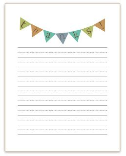 Thank You Note Template Kindergarten Awesome Thank You Notes For The Small Crowd