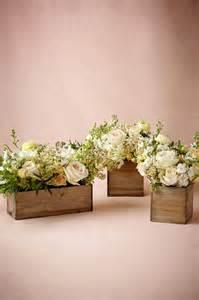 whitewash wooden centerpiece boxes billies flower house