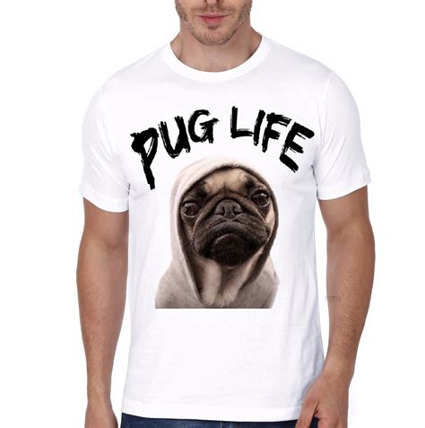 pug t shirts india pug white t shirt swag shirts