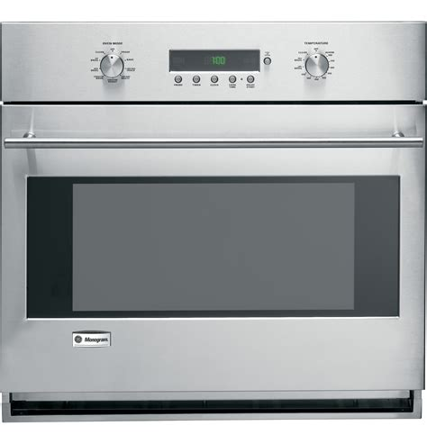 zet1smss ge monogram 174 30 quot built in electronic convection