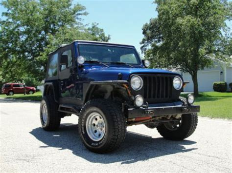 2000 Jeep Wrangler Automatic Purchase Used 2000 Jeep Wrangler Sport Tj 4 0 Automatic In