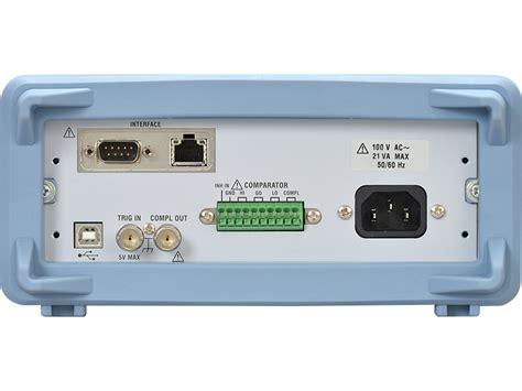 Multimeter Yokogawa dm7560 digital multimeter 6 5 digit yokogawa test