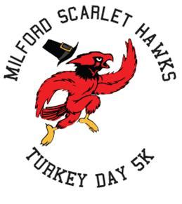 scarlet day new year 2016 seventh annual milford scarlet hawks turkey day 5k