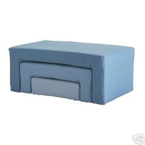 ottoman footstool ikea ikea noby set of footstool slipcovers ottoman covers blue