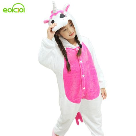 aliexpress unicorn aliexpress com buy 2017 new pijamas kids winter animal