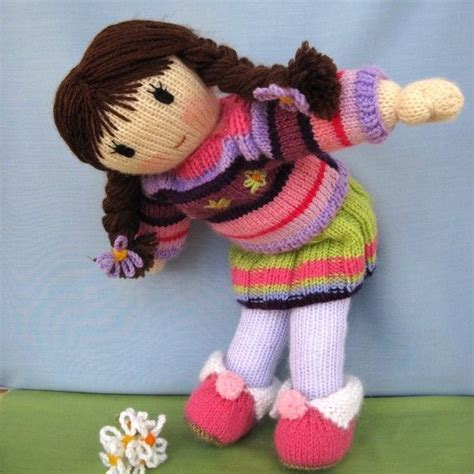 wendy phillips knitting posy knitted doll pdf email knitting pattern