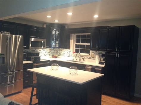 black cabinets kitchen kitchen painting kitchen cabinets yourself designwalls