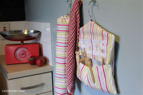 my mini kitchen makeover diy peg bag sewing project