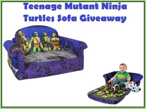 teenage mutant ninja turtles couch teenage mutant ninja turtles flip sofa flash giveaway
