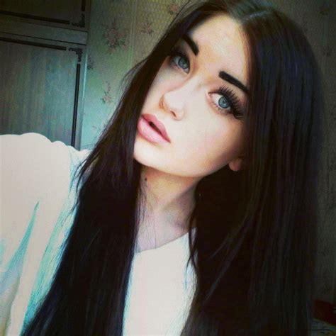 girl with black hair blue eyes 2a901956079411e39dfb22000a9e5ac6 7 jpg 612 215 612 black