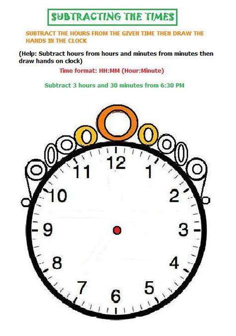 doodle how to add times subtracting the time