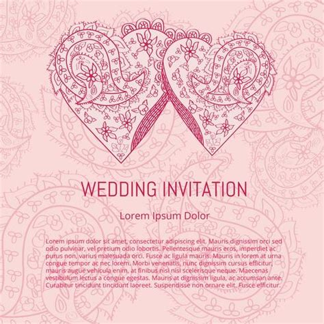 Wedding Card Vector by Indian Wedding Card Vector Free Vector