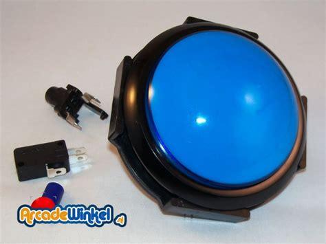 game gear led mod arcadewinkel nl big dome led drukknop blauw