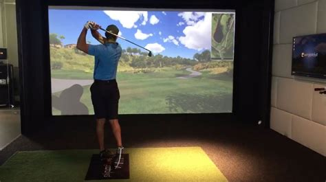 golf swing simulator news swing golf indoor golf simulator technology
