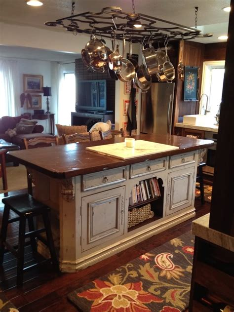 kitchen island with hanging pot rack pot rack over ideas also kitchen island with picture