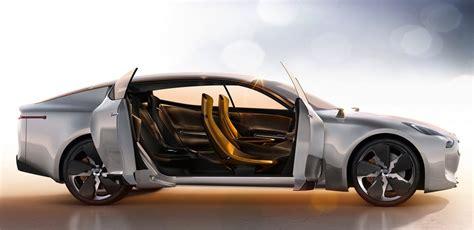 kia  spy shots luxury sedan targets germans