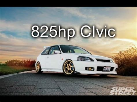 ricer honda hatch need for speed ricer 2000 honda civic type r 825hp youtube