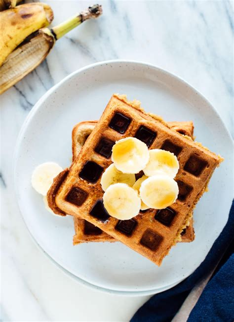 best 2 ingredient easy waffle recipe no 3 ingredient banana waffles
