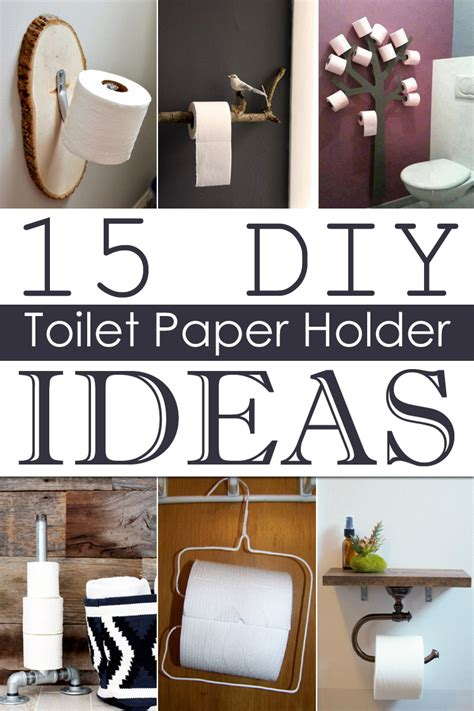 Toilet Paper Holder Ideas 15 diy toilet paper holder ideas