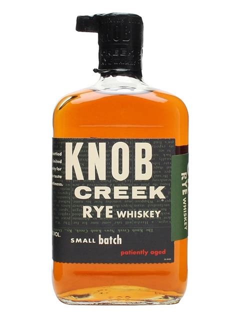 Knob Creek Bourbon Uk by Knob Creek Rye The Whisky Exchange