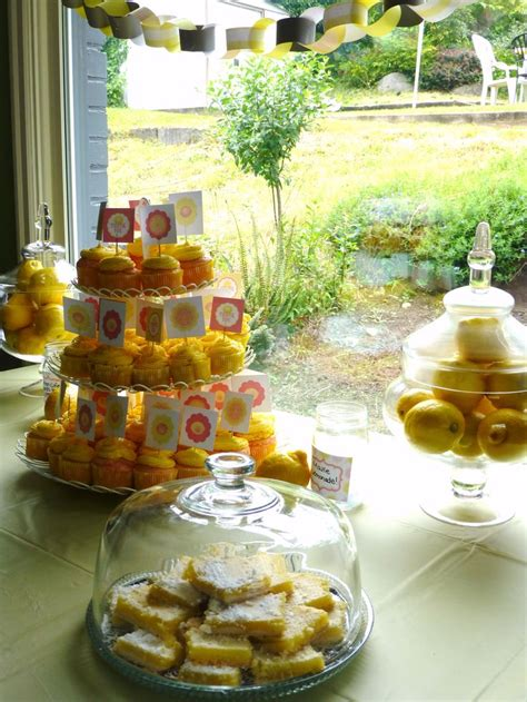themed food events 124 best images about lemon themed party on pinterest