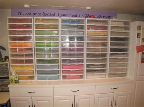 craft paper storage drawers wow this is a way to organize paper in a craft room
