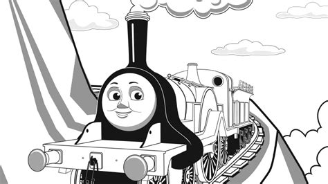 emily train coloring page play thomas friends games for children thomas friends