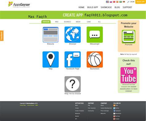 cara membuat website di android cara membuat website menjadi aplikasi android apk mas faqih
