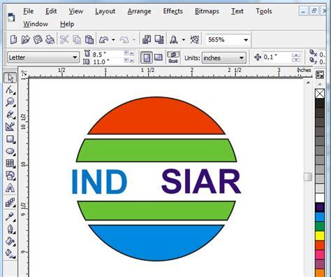 cara membuat x banner menggunakan corel draw tutorial cara membuat logo corel draw blog pns