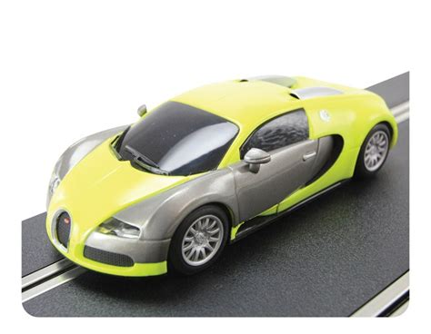 bugatti veyron scalextric discontinued c3275 scalextric bugatti veyron yellow