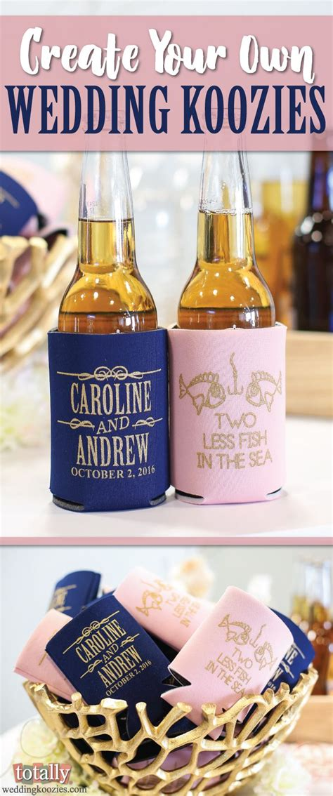 Useful Wedding Giveaways - 270 best images about koozie inspiration on pinterest wedding favors and drinks