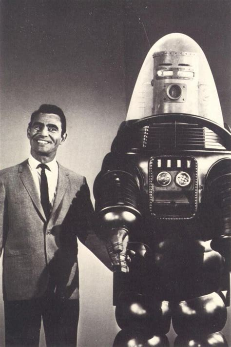 film robbie robot rod serling with quot robby the robot quot forbidden planet who