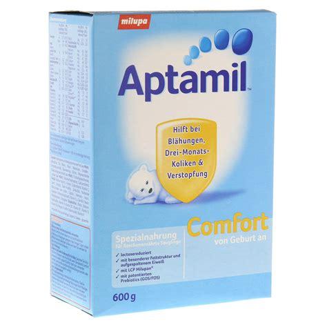 aptamil comfort ready made aptamil comfort pulver 600 gramm online bestellen medpex
