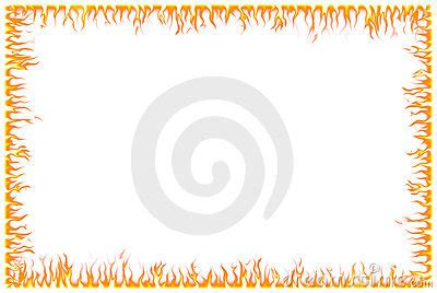 fire border royalty free stock images image: 6446999