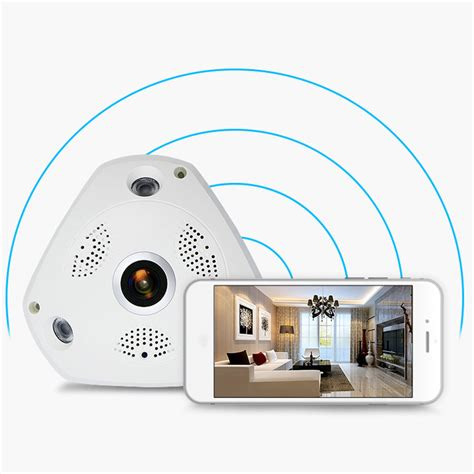 360 degree angle ip home security