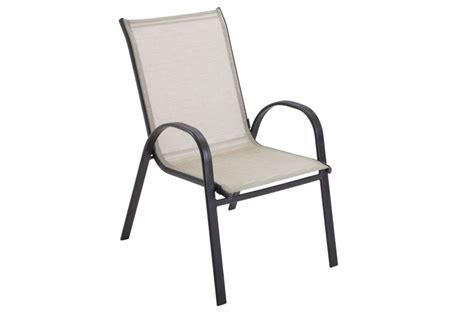 the home depot maple valley steel sling stacking chair