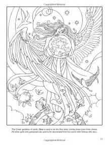 goddesses coloring book dover coloring pinterest