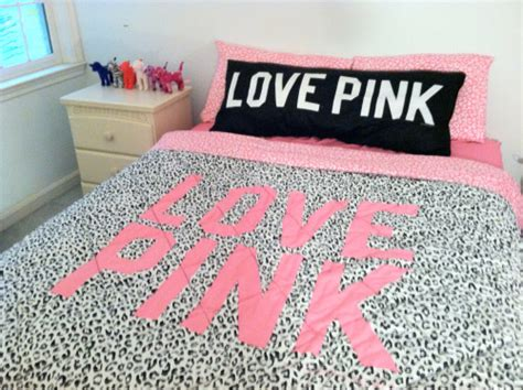 love pink bed set victorias secret pink on tumblr