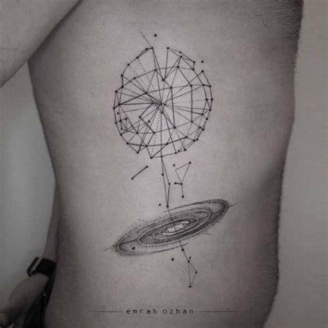 universe tattoo geometrical scheme best tattoo ideas gallery