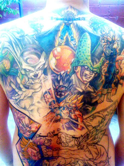 dragon ball z tattoos tattoos groups the dao of