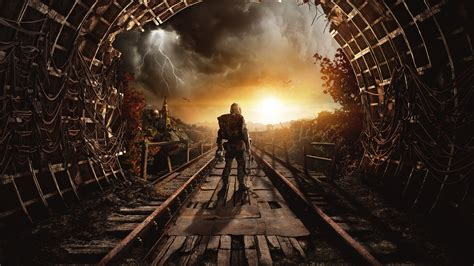 wallpaper metro exodus autumn gamescom  artwork