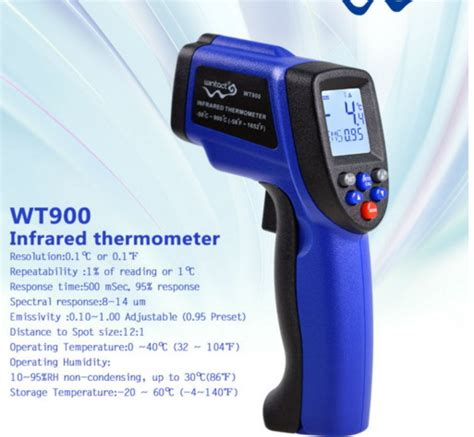 Infrared Thermometer Thermogun Jual 900c Wt900 Thermogun Thermometer Infrared Pengukur