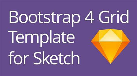 tutorial bootstrap 4 bootstrap 4 grid template for sketch tutorial
