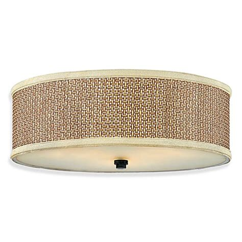 Zen Bathroom Lighting Buy Quoizel 174 Zen Large Flush Mount Light Fixture From Bed Bath Beyond