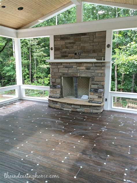 add a outdoor room to home turning our back porch dreaming into a reality part 3