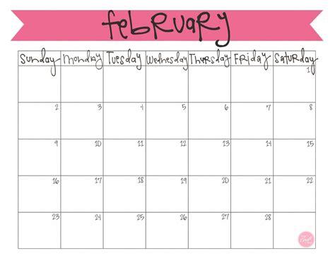 blank calendar templates for teachers february 2014 calendar free printable february 2014