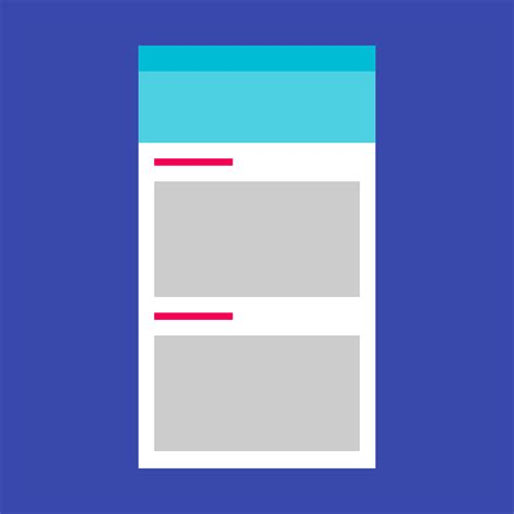 recyclerview layout animation subheaders components google design guidelines