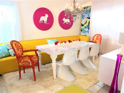 Colorful Lounge Chairs Design Ideas Color Splash Hgtv