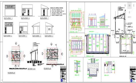guard house design layout guard house design