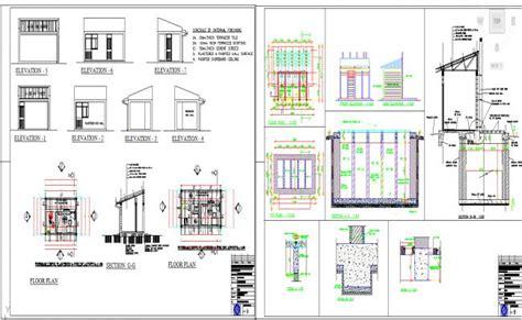 guard house plan guard house design
